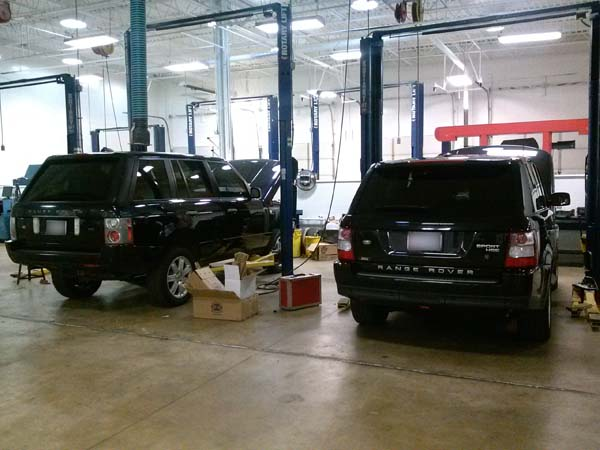 BA Auto Care | Having Range Rover or Land Rover Suspension Issues