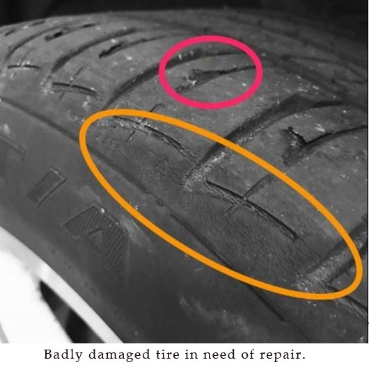 Badly damaged tire identified by British American Auto Care staff.jpg